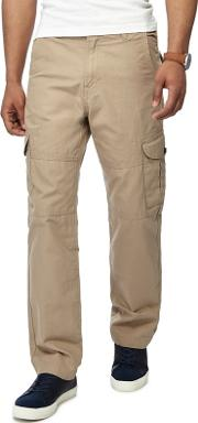Big And Tall Taupe Cargo Trousers