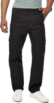 Dark Grey Cargo Trousers
