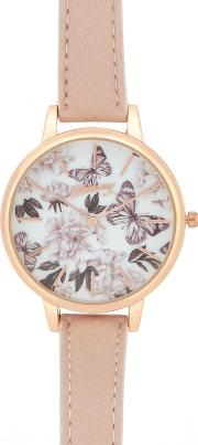 Ladies Multi Coloured Analogue Watch In A Gift Box