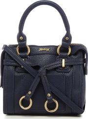 Navy Belted Cross Body Bag