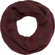 Wine Red Knitted Snood