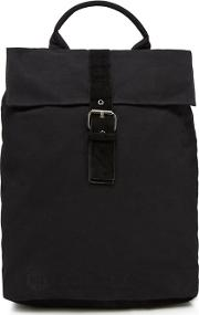 Black canvas Day Pack Backpack