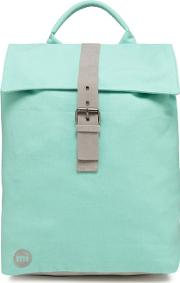 Light Green canvas Day Pack Backpack