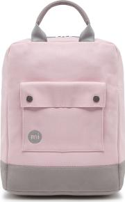 Light Pink Canvas Backpack