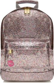Light Pink Glitter Backpack