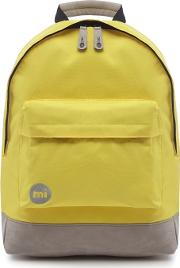 Yellow classic Backpack