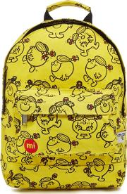 Yellow little Miss Sunshine Print Backpack