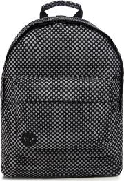 Mi Pac Black 'microdot' Backpack