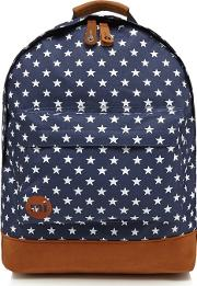 Mi Pac Navy all Star Zipped Backpack