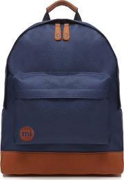 Mi Pac Navy Zipped Backpack