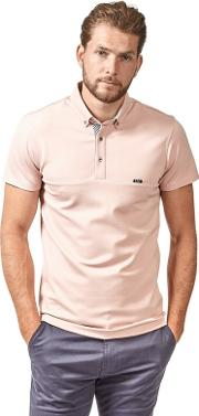 Big And Tall Pink Premium Heavy Weight Polo Shirt