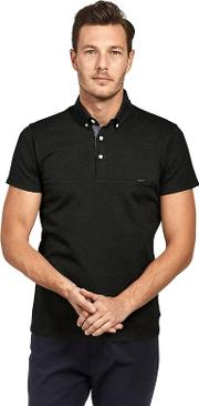 Black Premium Heavy Weight Polo Shirt