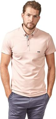 Pink Premium Heavy Weight Polo Shirt