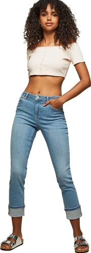Marie Relaxed Skinny Light Blue Jeans