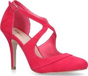 Miss Kg Pink natalie Stiletto Heel Court Shoes