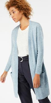 Blue perrie Pretty Nep Edge To Edge Cardigan