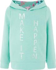 Girls Blue Make It Happen Sweat Top