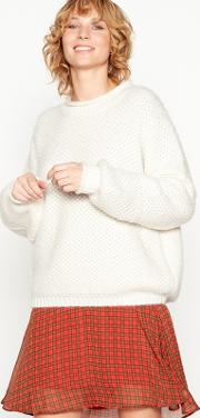 Off White Chunky Knit fina Jumper