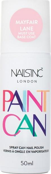 . Spray On Paint Can Nail Polish Mayfair Lane Pale Pink