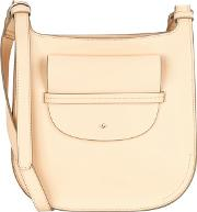 Light Peach Clara Large Cross Body Bag