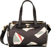 Multi Coloured Berry Bowler Bag