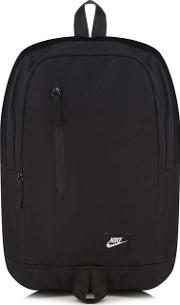 Black all Access Sole Backpack