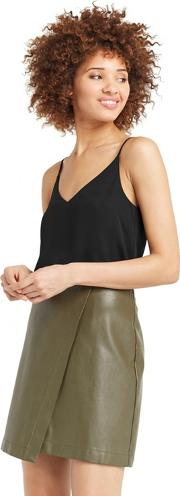 Black V Neck Camisole