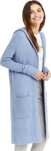 Blue Edge To Edge Cardigan