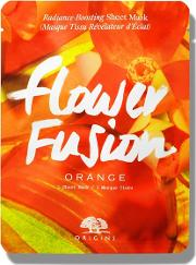 flower Fusion Hydrating Orange Sheet Mask
