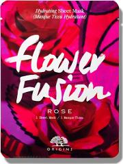 flower Fusion Hydrating Rose Sheet Mask