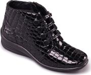 Black tanya Ankle Boots