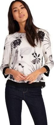 Belle Printed Blouse