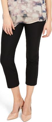 Black Halle Crop Trousers