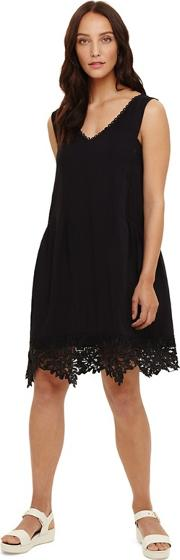 Black Prim Lace Dress