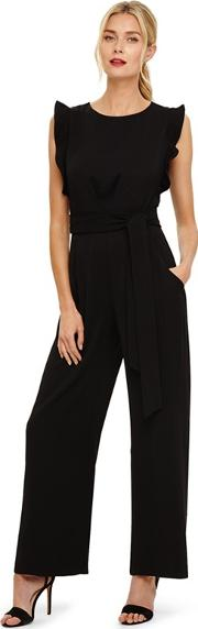 Black Victoriana Jumpsuit