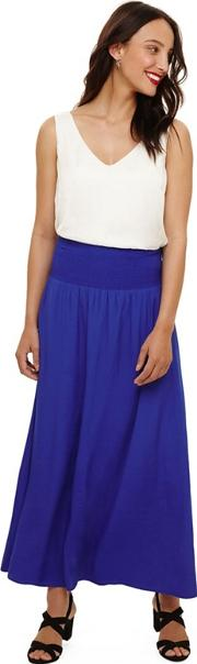 Blue Sam Elasticated Waist Skirt