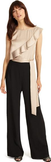 Brown Florentine Jumpsuit