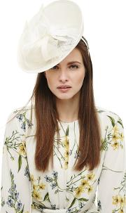 Cream Kate Flower Trim Fascinator