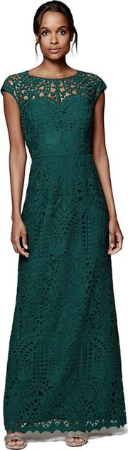 Gloria Lace Full Length Dress