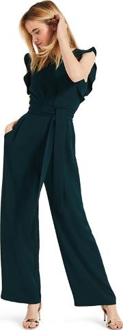 Green Victoriana Jumpsuit