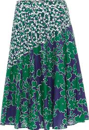 Multi Coloured Eloise Printed Skirt