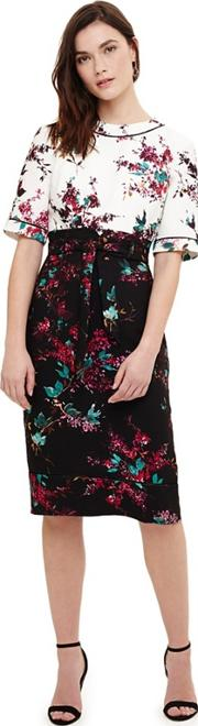 Multicoloured Ariana Floral Print Dress