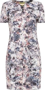 Multicoloured Jackson Print Dress