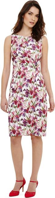Multicoloured Sweet Pea Jersey Dress