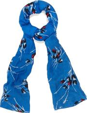 Multicoloured Tula Floral Print Scarf