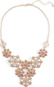 Natural Alexia Flower Stone Necklace