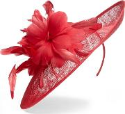 Pink Rita Flower Disc Fascinator
