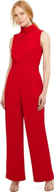 20696c17fd45 phase eight Red Cressida Roll Neck Jumpsuit