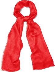 Red Verity Scarf