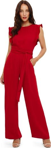 Red Victoriana Jumpsuit